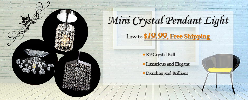 mini crystal Light