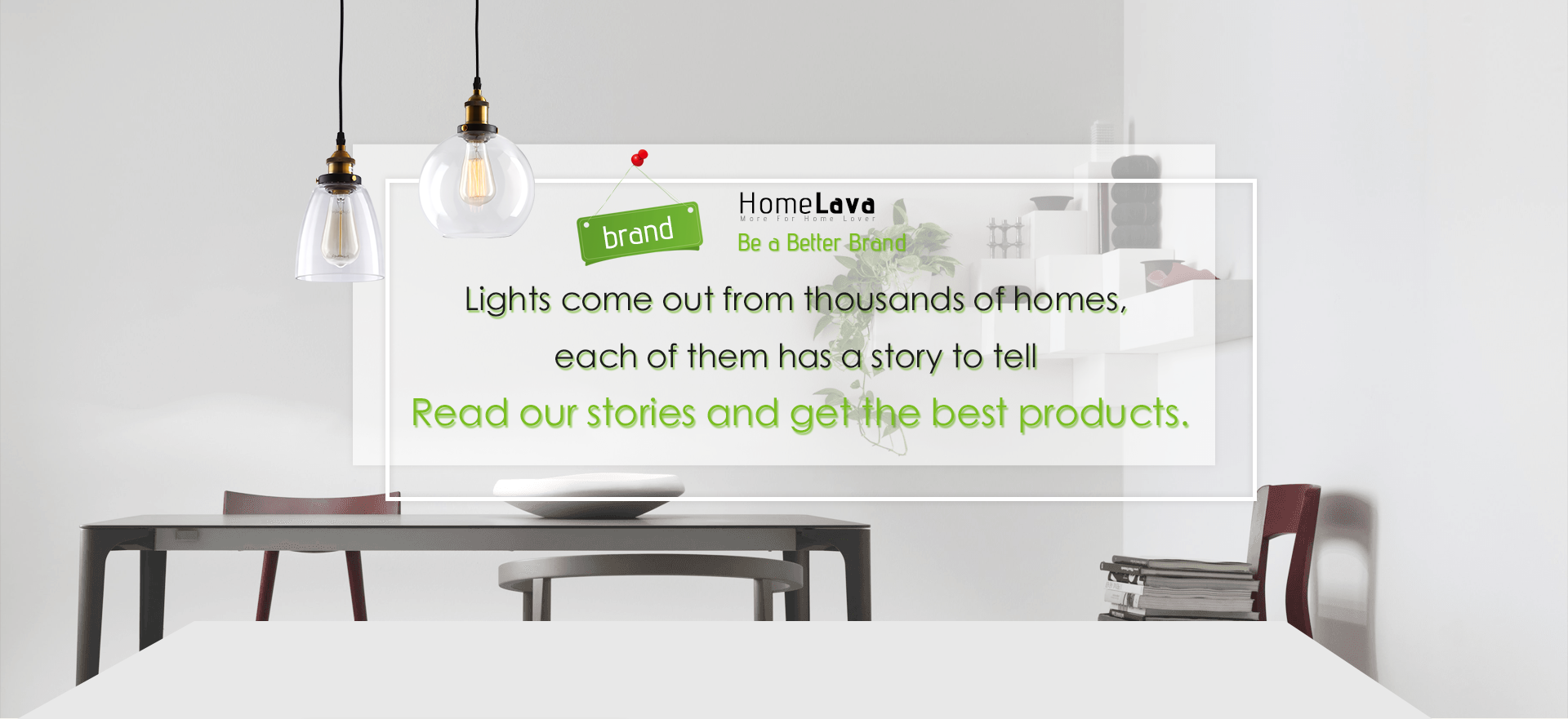 Lights come out from thousands of homes, each of them has a story to tell